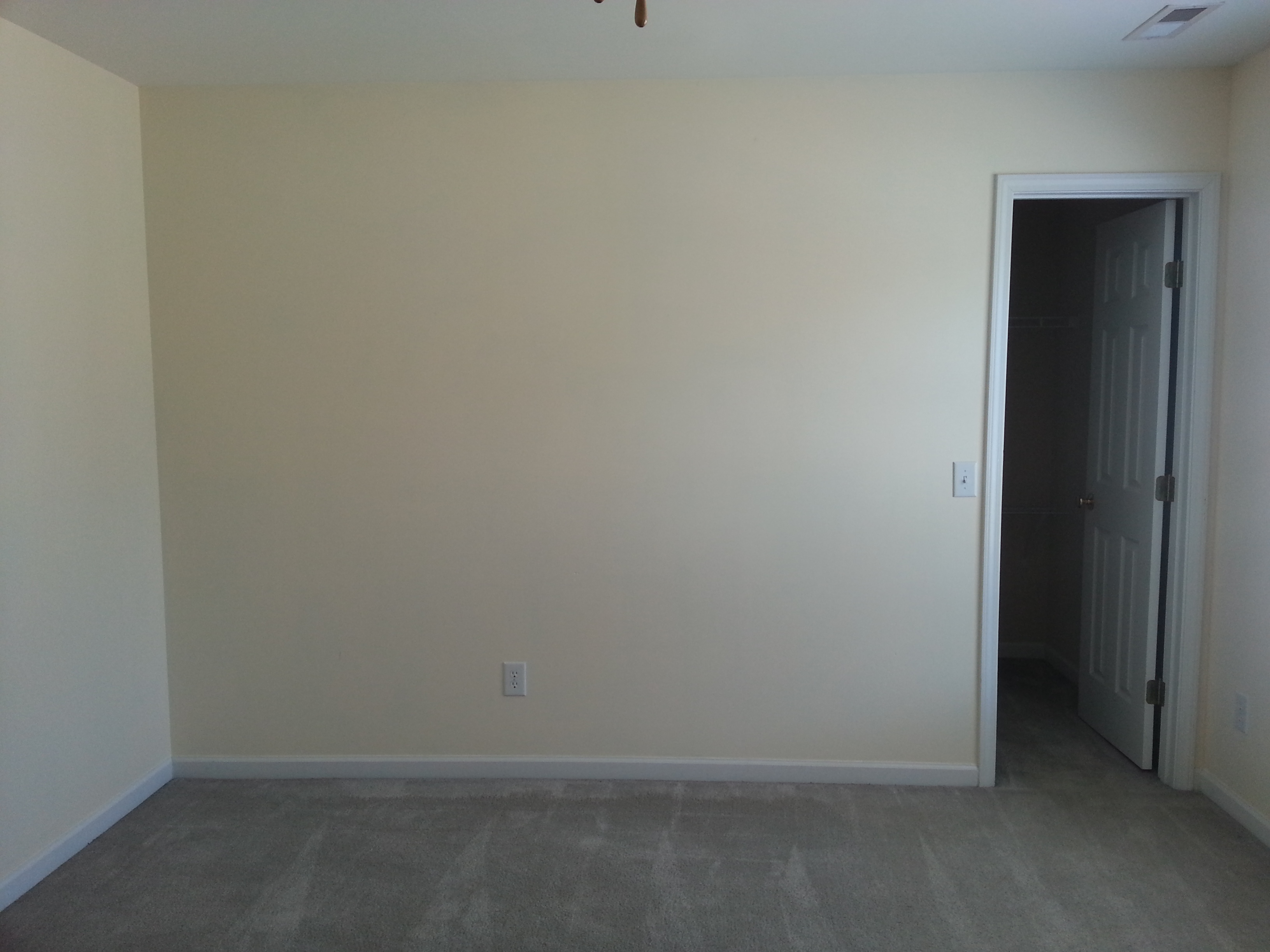 Empty master bedroom with bed - Viewing Gallery For Empty Bedroom With Bed